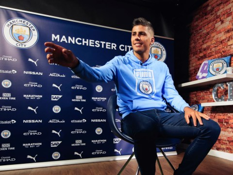New Man City star Rodri takes subtle dig Man Utd after completing £62.8m transfer