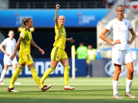 England miss out on World Cup bronze medal as Sweden win third place play-off