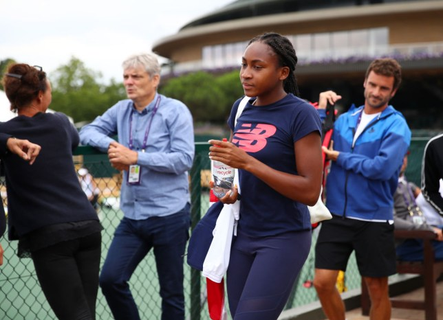 Serena Williams and Roger Federer rate Cori Gauff's chances of winning Wimbledon