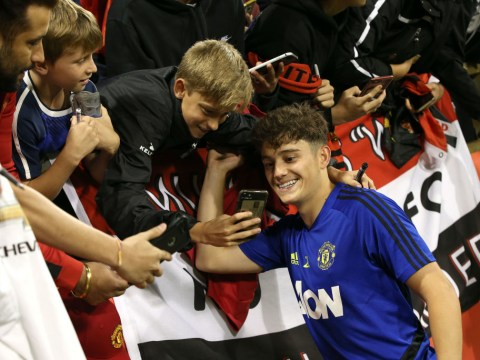 Ole Gunnar Solskjaer names the only Man Utd player who can rival Daniel James for pace