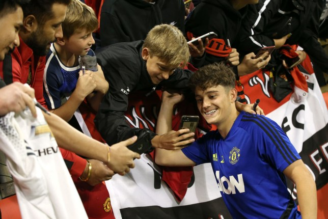 Daniel James signed for Manchester United from Swansea City last month