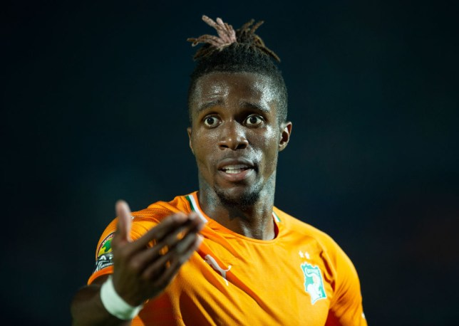 Crystal Palace want £80million for Arsenal transfer target Wilfried Zaha