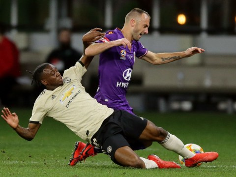 Scott McTominay reveals Manchester United amazed by Aaron Wan-Bissaka's tackling