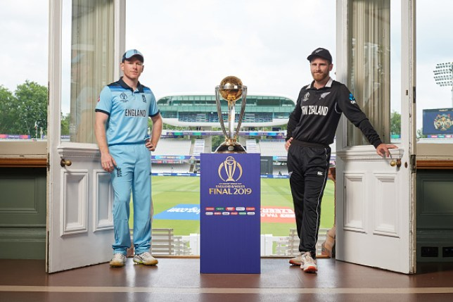 England face New Zealand in the Cricket World Cup final
