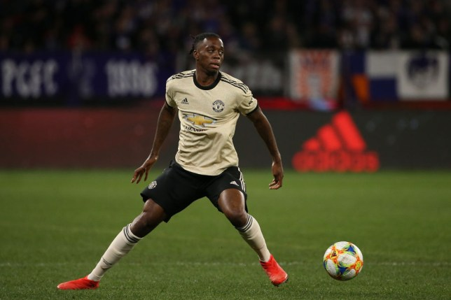 Aaron Wan-Bissaka is already impressed at Manchester United