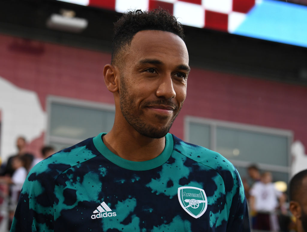 Arsenal star Pierre-Emerick Aubameyang has been related with a startle pierce to Manchester United