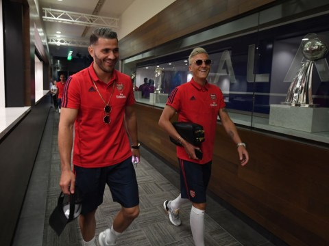 Mesut Ozil and Sead Kolasinac left out of Arsenal friendly after conversation with Unai Emery