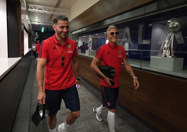 Mesut Ozil and Sead Kolasinac were attacked during an attempted carjacking earlier this week