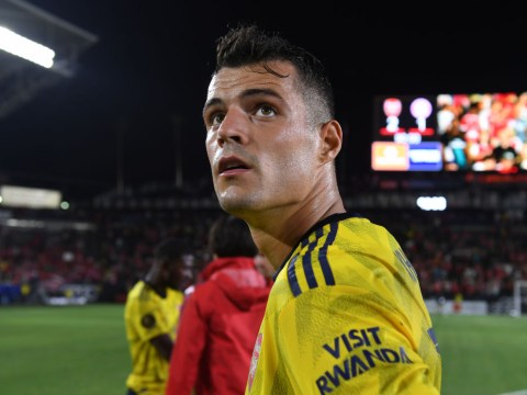 Granit Xhaka describes the type of player Arsenal should be signing this transfer window