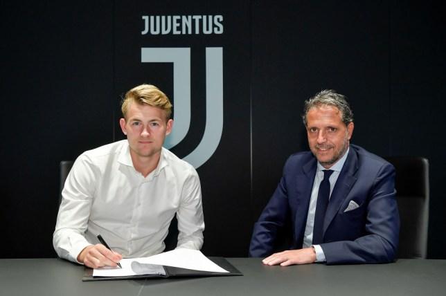 Matthijs de Ligt signing for Juventus