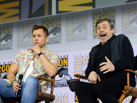 Taron Egerton geeks out about Mark Hamill as first reviews for Netflix's Dark Crystal come in