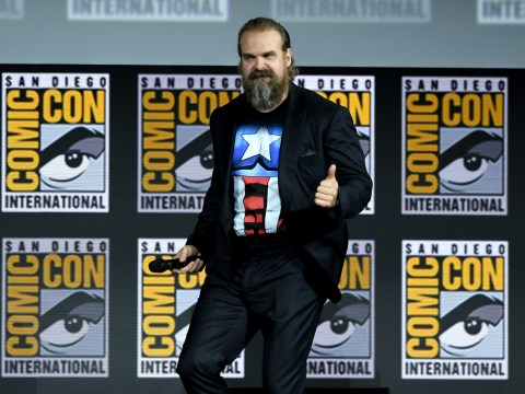 Stranger Things' David Harbour joins Black Widow cast during Marvel panel as character name breaks hearts