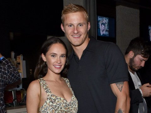 Vikings star Kristy Dawn Dinsmore says her crotch burns when she thinks of boyfriend Alexander Ludwig
