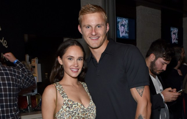 Vikings stars Alexander Ludwig and Kristy Dawn Dinsmore