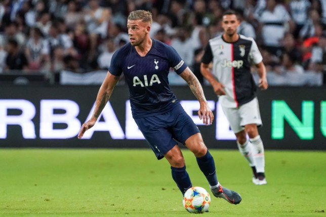 Toby Alderweireld captained Spurs against Juventus