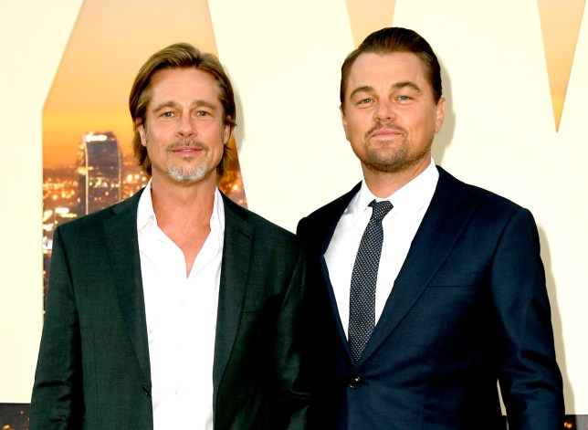 Brad Pitt raves about filming with Leonardo DiCaprio for Once Upon A Time In Hollywood as bromance continues