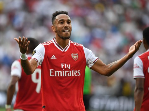 Unai Emery sends message to Manchester United over Pierre-Emerick Aubameyang transfer