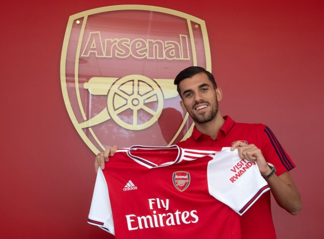 Dani Ceballos made his Arsenal debut during Sunday's Emirates Cup defeat against Lyon