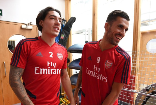 quality design d3188 6f2d4 Raul Sanllehi names the two reasons Arsenal signed Dani ...