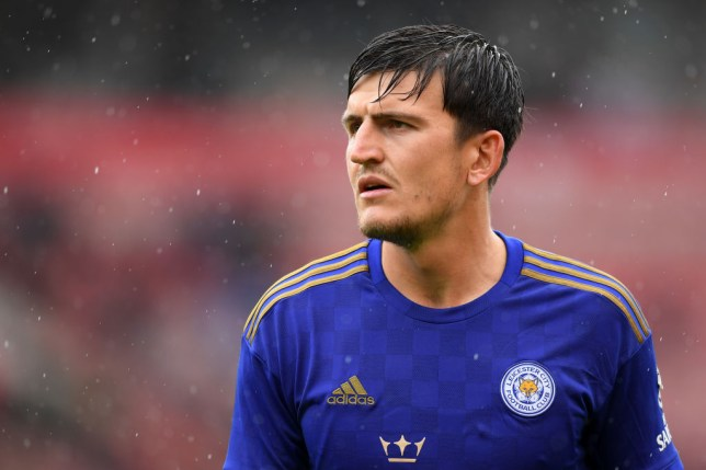 Leicester City star Harry Maguire has been heavily linked with Manchester United