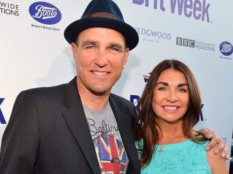 How old was Vinnie Jones' wife Tanya, how long were they married and did they have children?