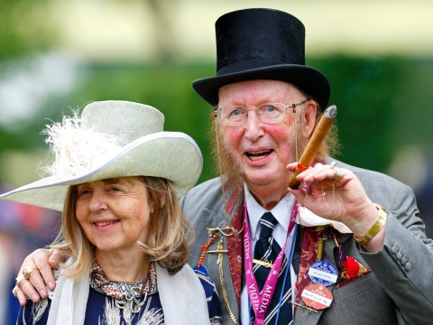 Who is John McCririck's wife, how long were they married and why did he call her Booby?