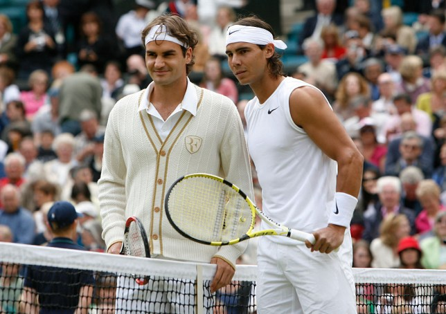 The two superstars have not met at Wimbledon since 2008