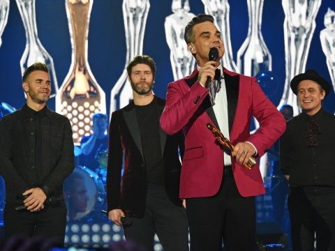 Robbie Williams thanks Take That for getting 'equilibrium back' after three year agoraphobia battle