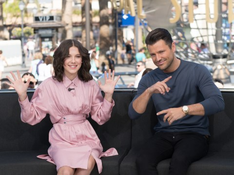 Millie Bobby Brown can't get enough of Mark Wright's new radio show as she calls in to congratulate star