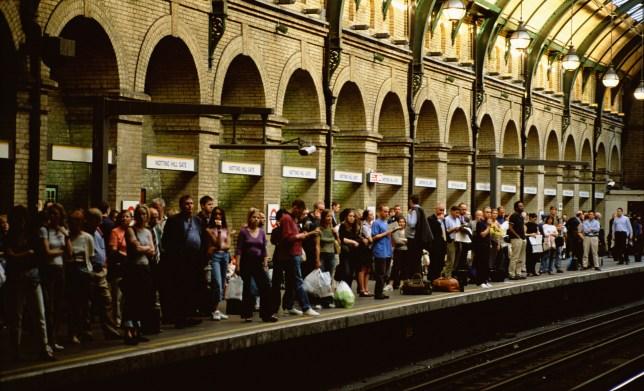 Train delays during heatwave