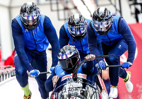 TEAM GB bobsleigh team