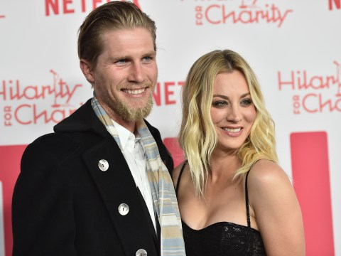 Kaley Cuoco insists she's happy living separately from husband after raising eyebrows