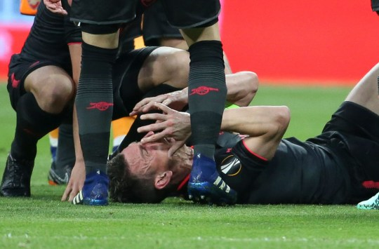 Laurent Koscielny suffered a career threatening Achilles injury in May 2018