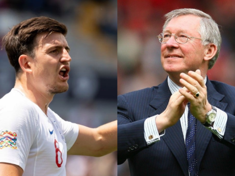 Alex Ferguson told Harry Maguire as a 17-year-old he could be top player