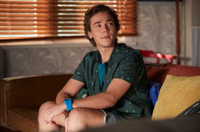 Ryder is played by Lukas Radovich