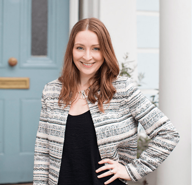 Matchmaker Caroline Brealey poses in London