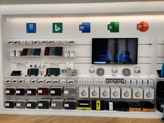 Microsoft is opening a London store – just up the road from