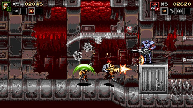 Blazing Chrome (NS) - the Contra game that never was
