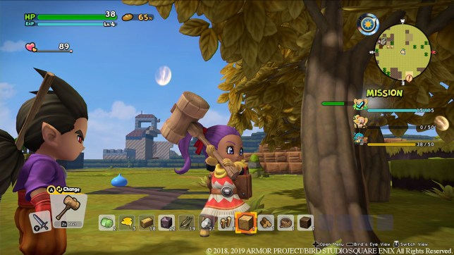 Dragon Quest Builders 2 (NS) - you can't make an omelette without breaking some eggs