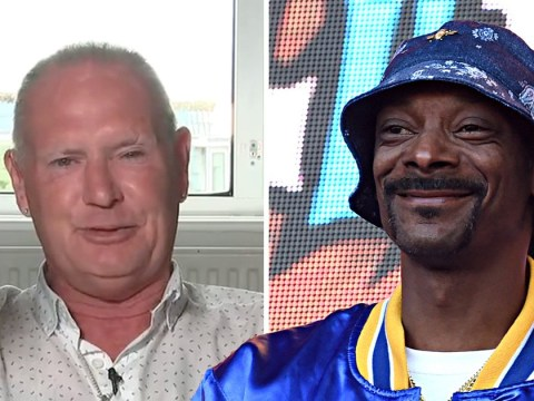 Paul Gascoigne challenges Snoop Dogg to a fight following 'disrespectful' anti-alcohol meme