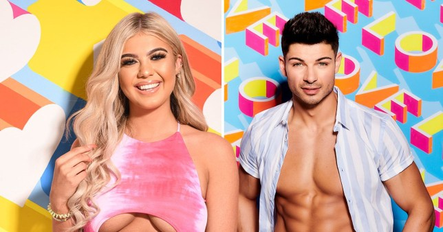 Love Island's Belle and Anton