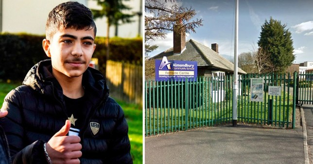 Jamal Hijazi says he feels the incident has 'cost him his future' (Picture: SWNS/Google Map)