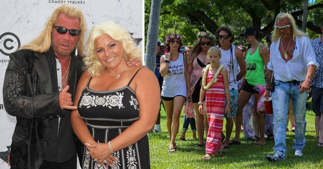 Dog The Bounty Hunter scatters wife Beth Chapman's ashes in