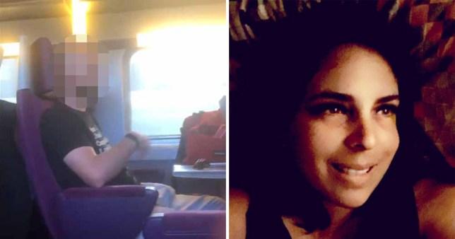 Woman who filmed man masturbating on train faces bigger fine than him