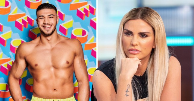 Katie Price has a crush on Tommy Fury