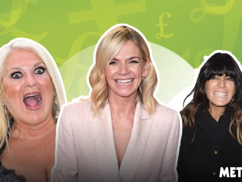 Zoe Ball, Claudia Winkleman and Vanessa Feltz raking in massive salaries as BBC releases pay ranking
