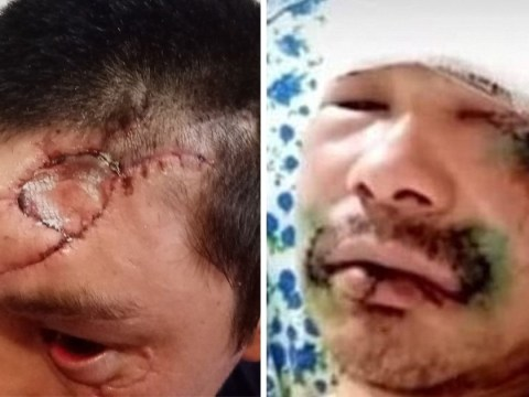 School caretaker viciously attacked by bear 'fought off beast by biting its tongue'