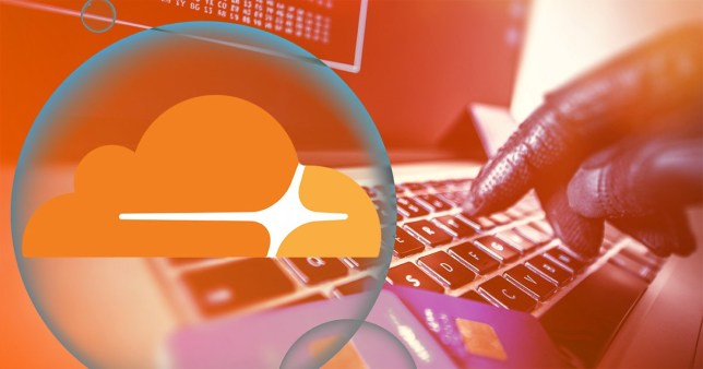The outage literally broke the internet (Image: Shutterstock, Cloudflare)