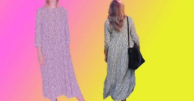 The Zara spotted dress that's gone viral