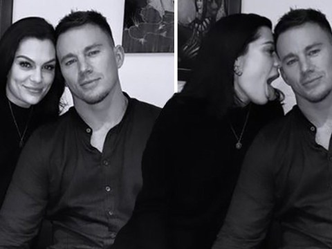 Jessie J licks boyfriend Channing Tatum in playful date night pictures